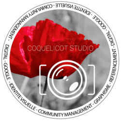 Logo Coquelicot Studio